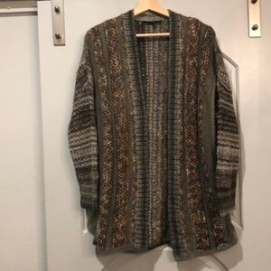Vintage Cosby librarian cardigan sweater.